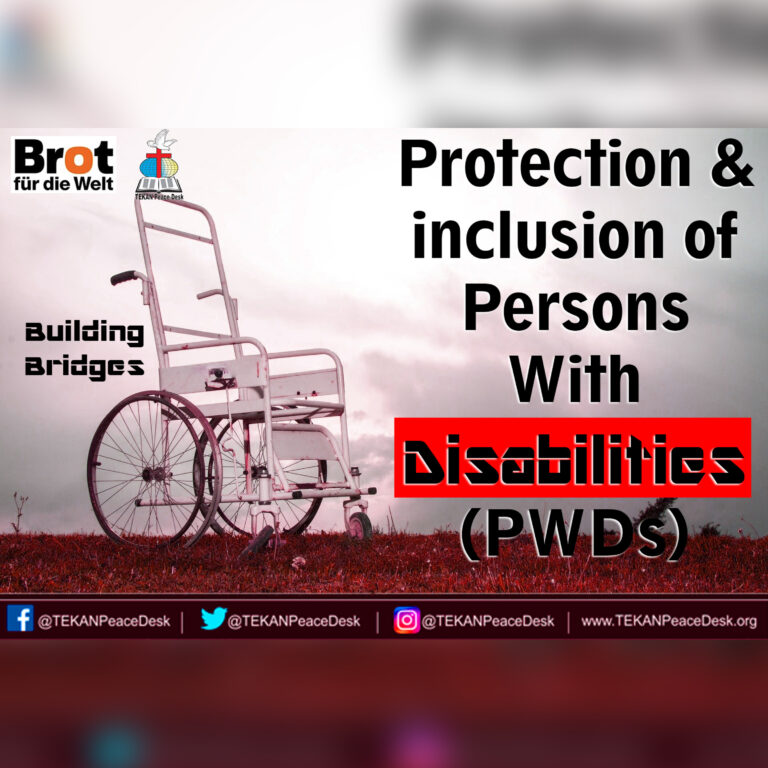 BB – Protection and inclusion of Persons With Disabilities (PWDs) – 22nd Sep. 2021